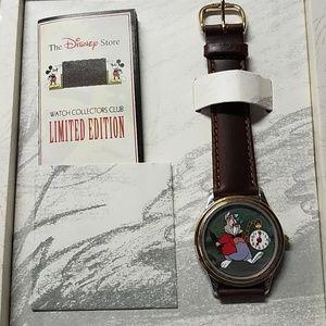 Vintage Disney Alice In Wonderland watch